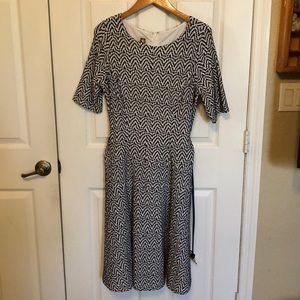Anne Klein navy blue dress